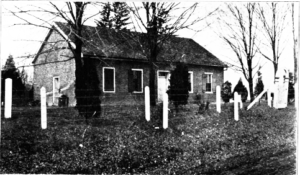 Early Photo of the Fee Fee Meeting House