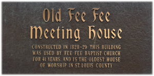 Old Fee Fee Meeting House